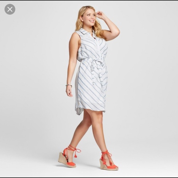 Target Ava & Viv Linen Plus Size Dress - 2X - NWT NWT